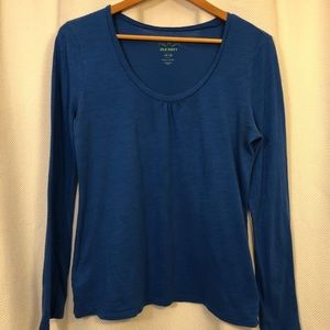 🆕 Old Navy Royal Blue Long Sleeve Cotton T